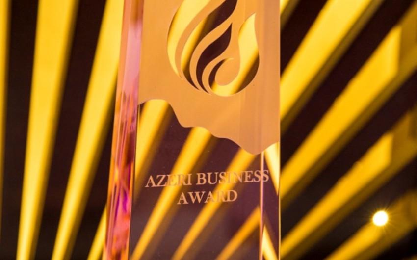 """Bakıda """"Azeri Business Award 2016 mükafatının təqdimatı keçirilib"""