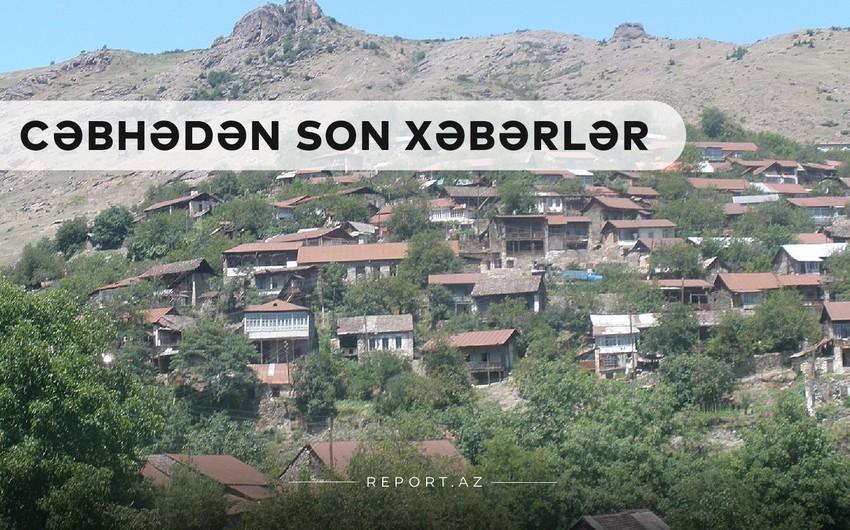 Xəbər Saatı: Ordumuzun işğaldan azad etdiyi yeni kəndlərin adları açıqlandı