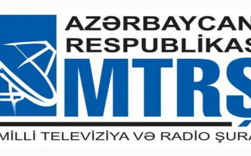 MTRŞ: Əhali analoq yayımın dayandırılacağı ilə bağlı məlumatlandırılır