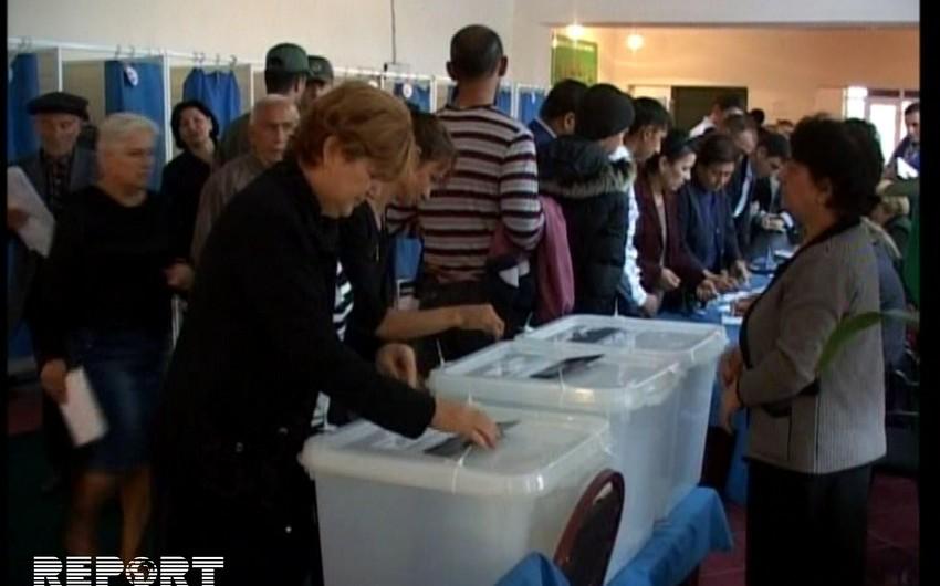 Жители Гаджигабула активно участвовали в голосовании - ФОТО