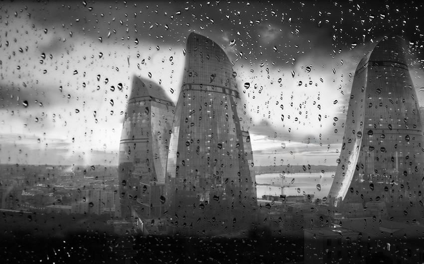 Proqnozlar Bürosu: Növbəti iki gündə yağmurlu hava şəraiti davam edəcək