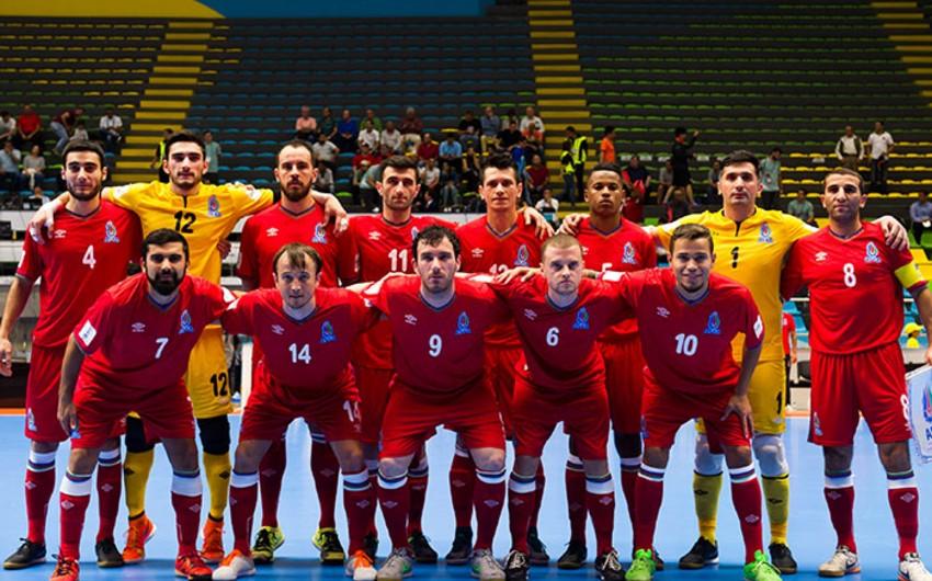 Futzal üzrə Azərbaycan milli komandası Moldova yığmasına qalib gəlib