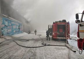 Трое пропавших при тушении пожара на складе в России погибли