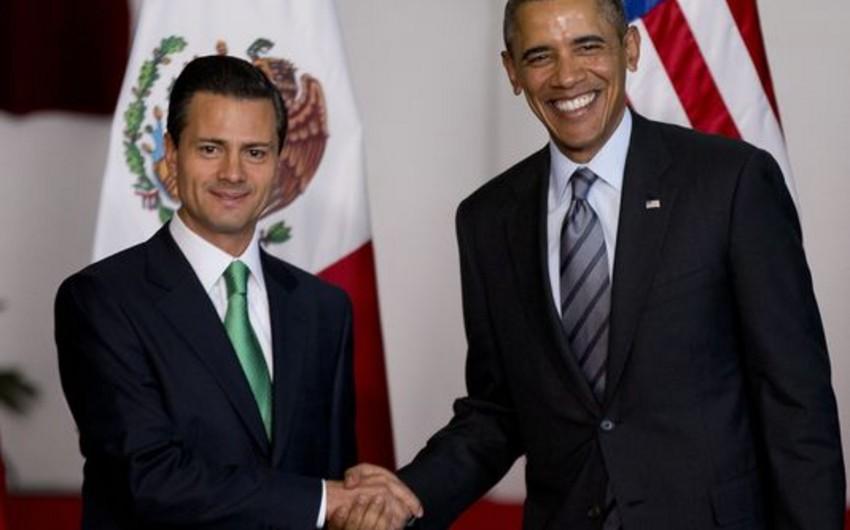 Obama: Meksikaya narkokartellərlə mübarizədə yardım etməyə hazırıq