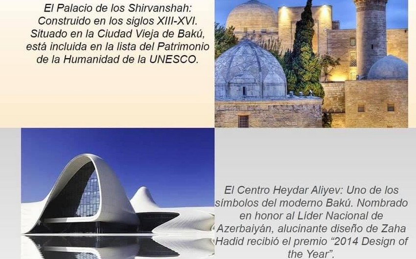 Azerbaijani culture and national cuisine at Mexican international festival