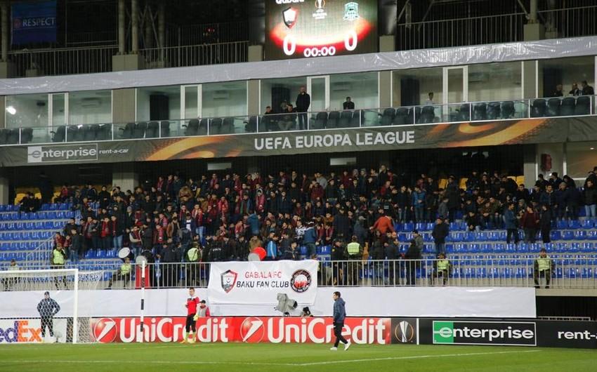 """""""Qəbələ"""" komandası UEFA Avropa Liqasında son oyununu keçirib - FOTO"""