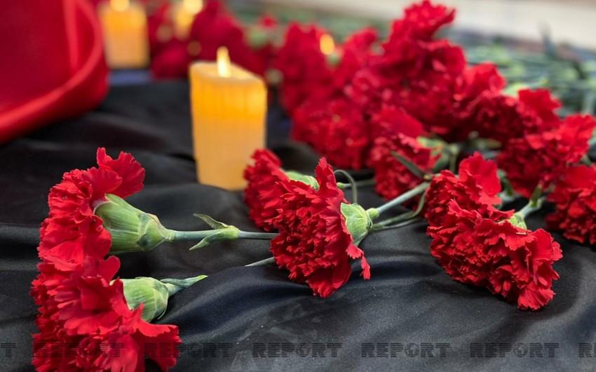 Moskvada Azərbaycan pavilyonunda II Dünya müharibəsində həlak olanların xatirəsi yad edilib