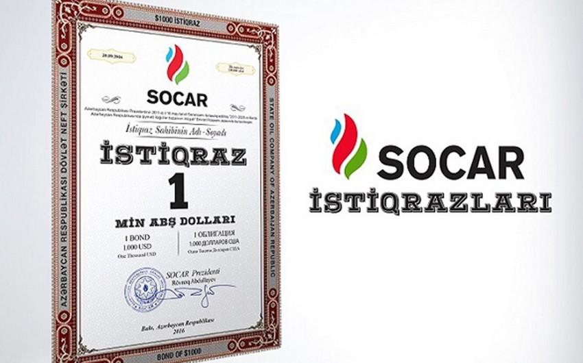 SOCAR istiqrazlarının alış qiyməti artırılıb