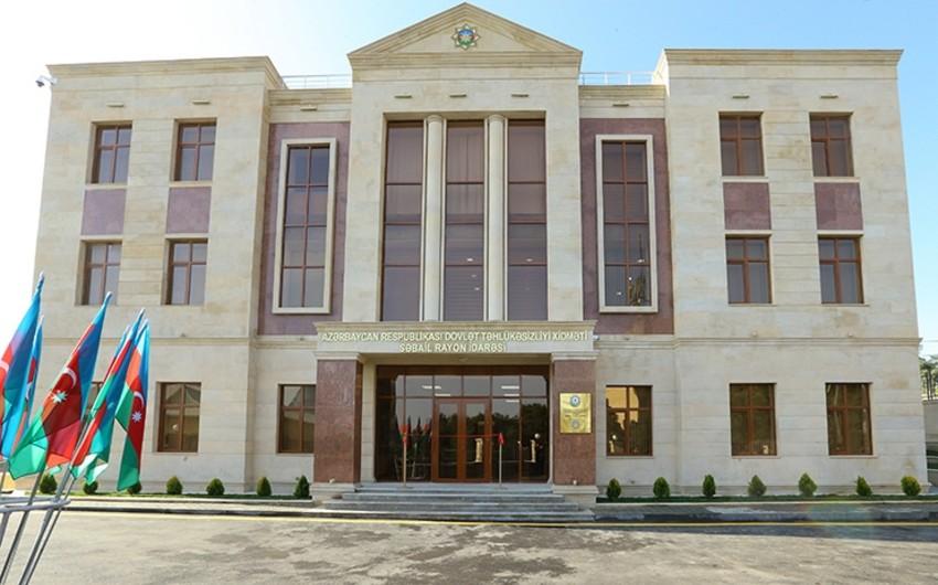 DTX-nın Səbail rayon idarəsinin yeni inzibati binasının açılışı olub
