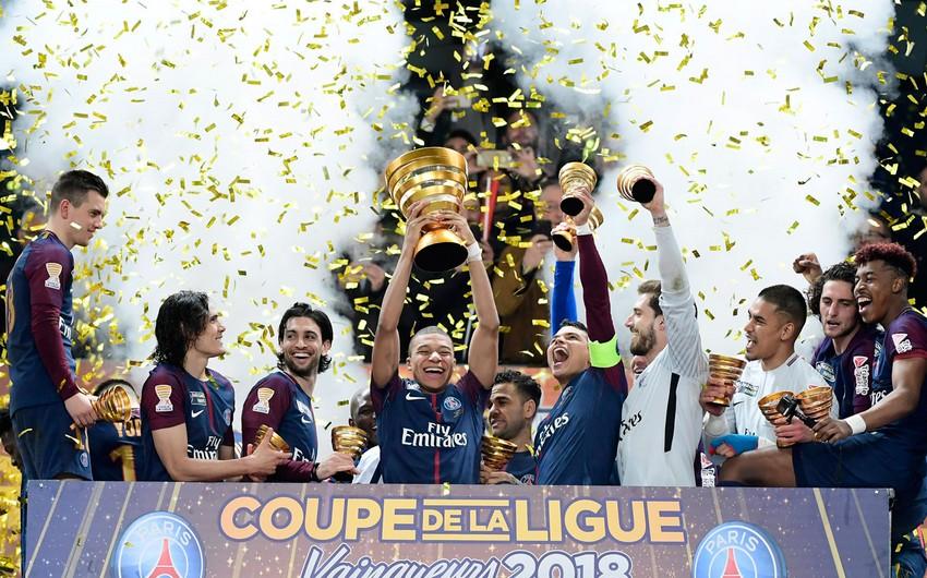 ПСЖ разгромил Монако и в пятый раз подряд выиграл Кубок французской лиги - ВИДЕО
