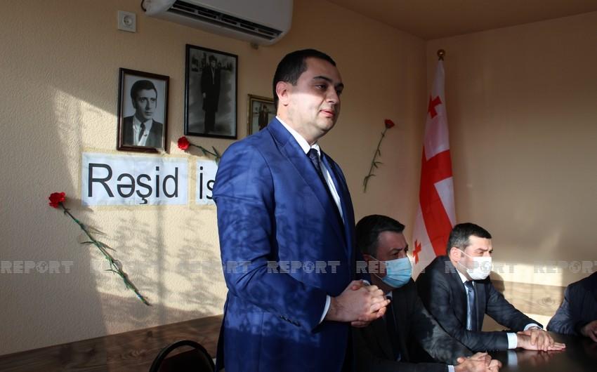 """Gürcüstan parlamentinin deputatları: """"20 Yanvar şəhidlərinin qanı əbəs yerə axmayıb"""""""