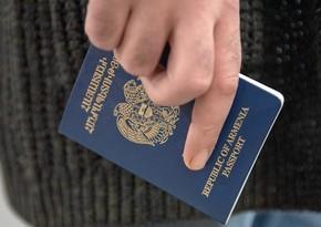 Ermənistanda pasport qıtlığı yaranıb