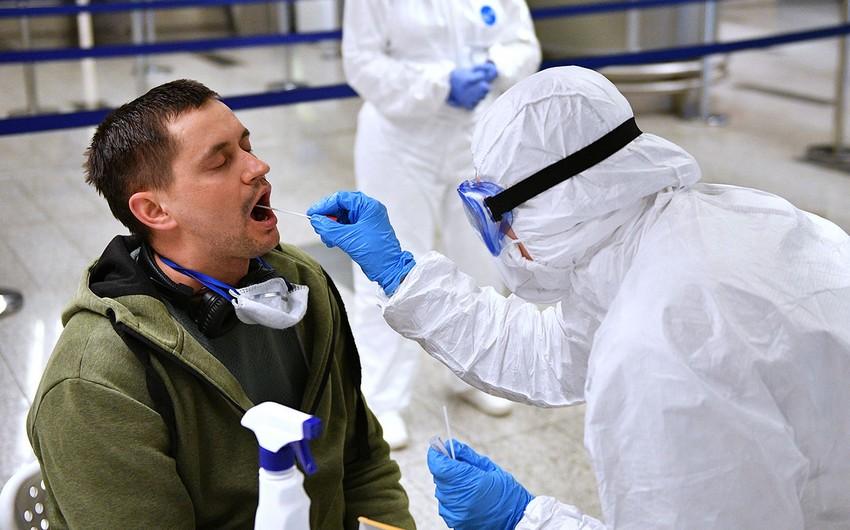 ÜST: Dünyada COVID-19-a yoluxma halları ardıcıl doqquzuncu həftədir artır
