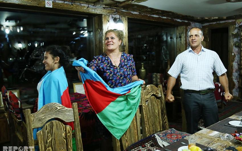 Rio-2016: Elmar Qasımovun ailəsinin həyəcanı və sevinci - FOTO - VİDEO