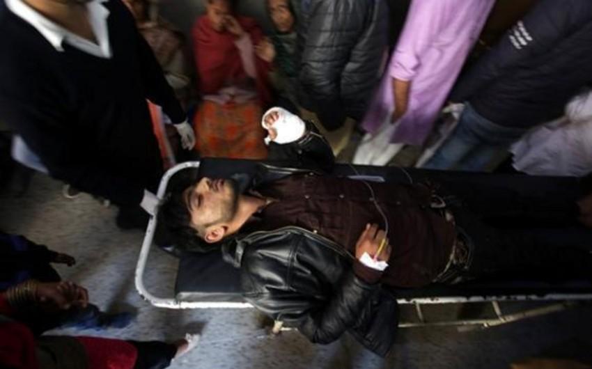 В Кашмире произошел взрыв