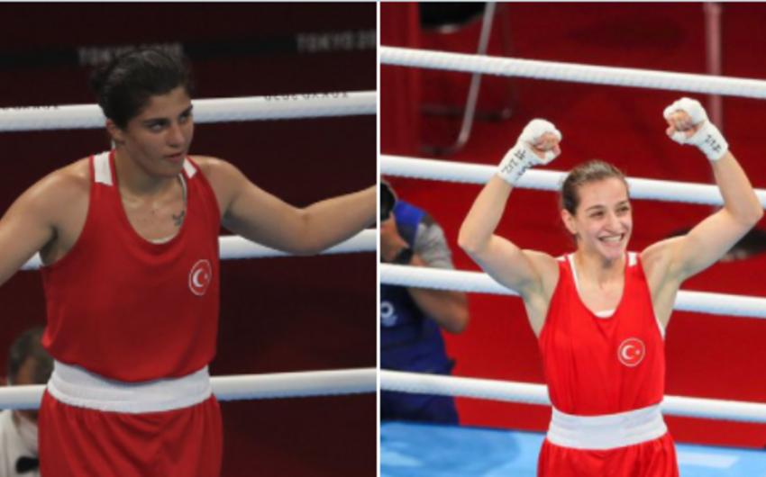 Tokio-2020: Tarixdə ilk dəfə türkiyəli qadın boksçular finala yüksəlib