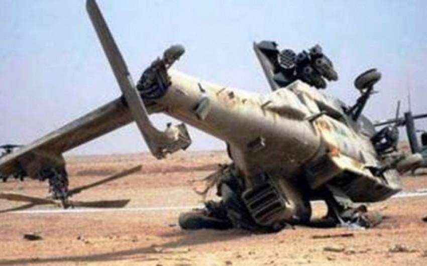 Военный вертолет потерпел крушение в Афганистане, погибли два человека