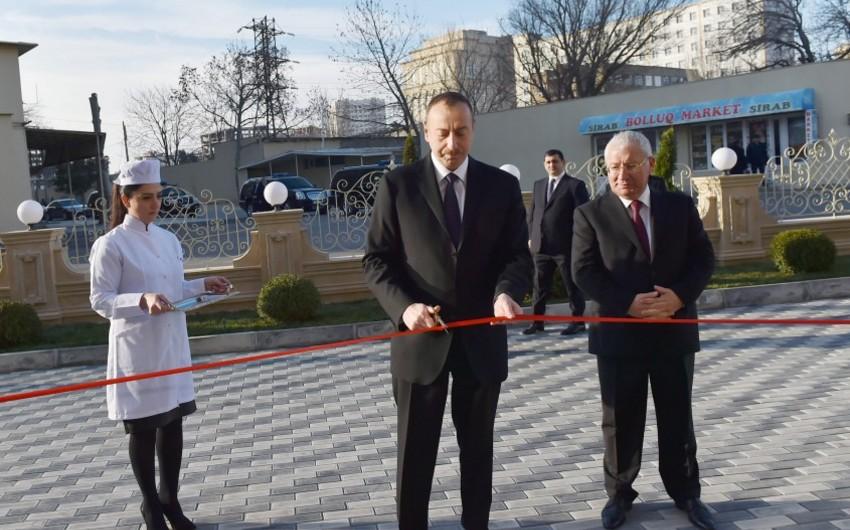 Президент Ильхам Алиев принял участие в открытии Ветеринарного городка