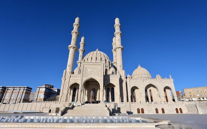 Мечеть Гейдар включена в список охраняемых особо важных объектов