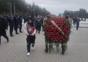 Шехид Отечественной войны похоронен в Сумгайыте
