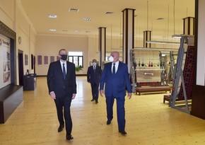 "Ilham Aliyev inaugurates Tartar branch of ""Azerkhalcha"""
