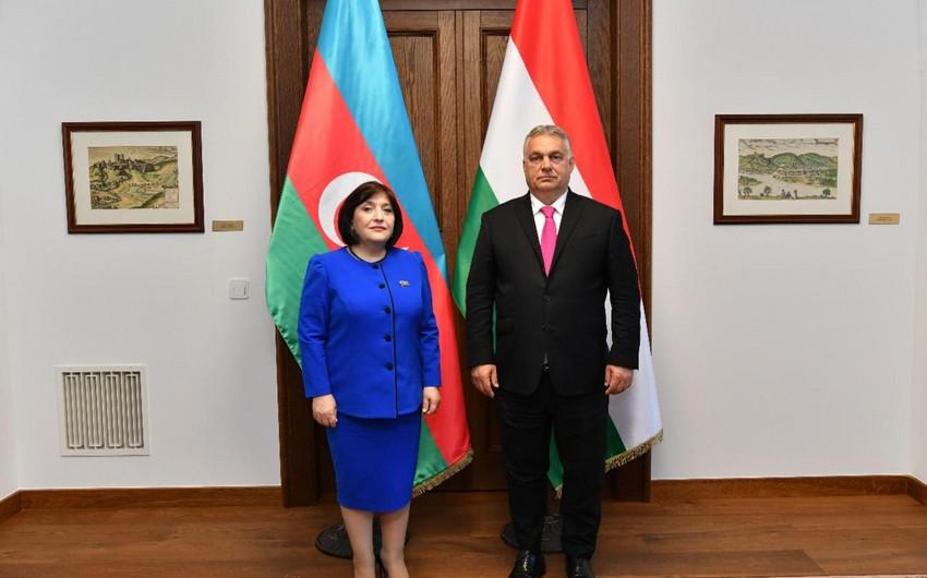 Baş nazir: Macarıstan Azərbaycanla münasibətlərin inkişafına böyük önəm verir