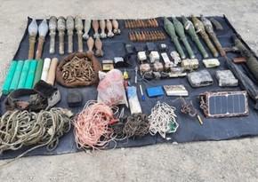 Türkiyədə PKK terrorçularının silah-sursatı, partladıcıları ələ keçirilib