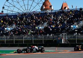 Formula 1: Rusiya Qran-prisində təsnifat mərhələsinin qalibi bəlli olub