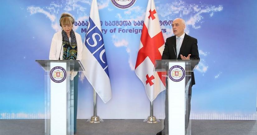 Генсек: ОБСЕ будет активно участвовать на Южном Кавказе
