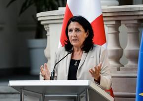 Gürcüstan prezidenti azərbaycanlı və erməni həmkarı ilə danışıqlar aparacaq