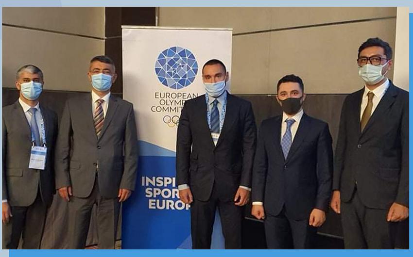 Azərbaycan nümayəndə heyəti EOC-un Baş Assambleyasında iştirak edib