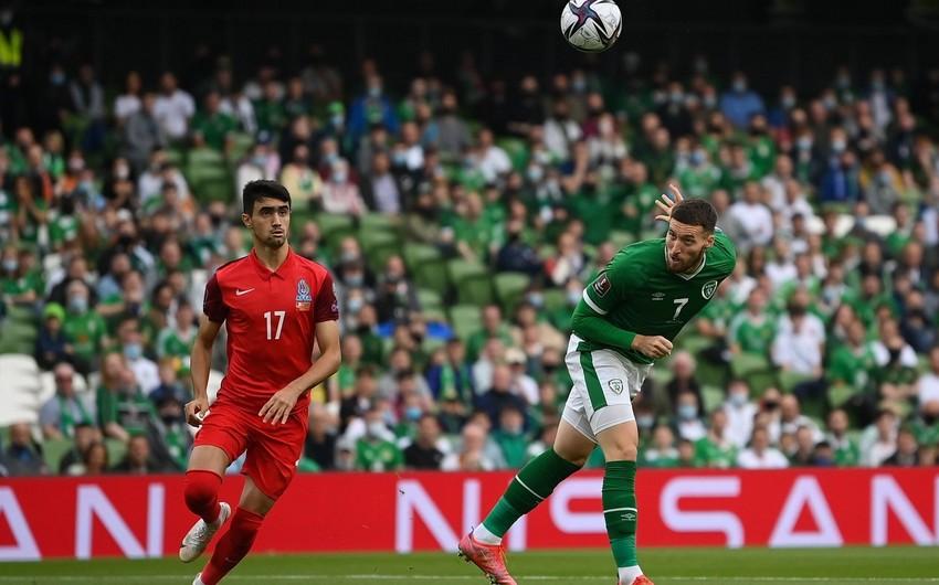 Azərbaycan - İrlandiya oyununun  -
