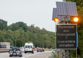 Germany announces one-month quarantine regime