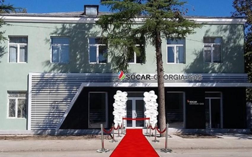 """""""SOCAR Georgia GAS"""" Gürcüstanda daha bir xidmət mərkəzi açıb"""