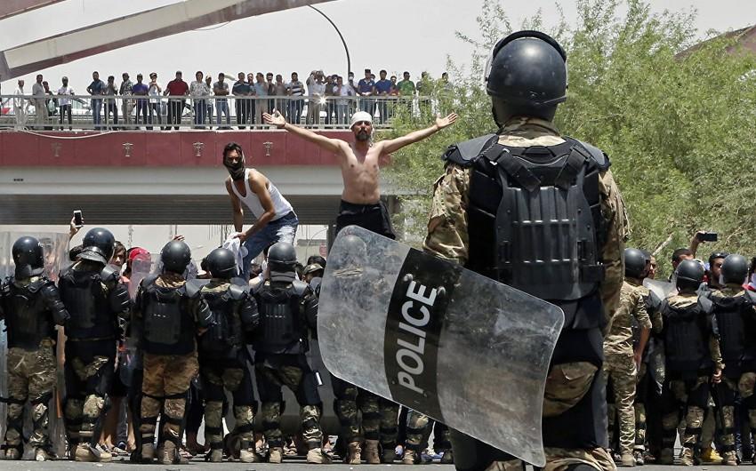 İraqda etirazlar davam edir - 12 nəfər ölüb, 600-dan çox insan xəsarət alıb