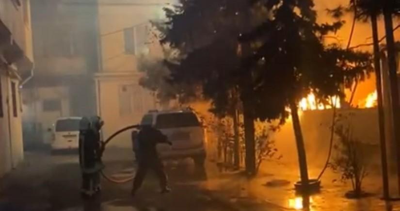 Сигаретный окурок стал причиной пожара в Баку