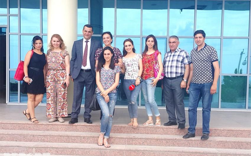 Səhiyyə Nazirliyi Oğuz, Balakən və Şəki rayonlarının tibb müəssisələrinə press-tur təşkil edib