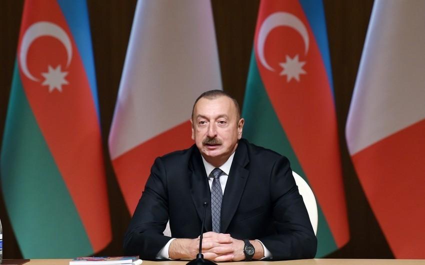 """Prezident İlham Əliyev: """"Azərbaycan çox sabit ölkədir"""""""