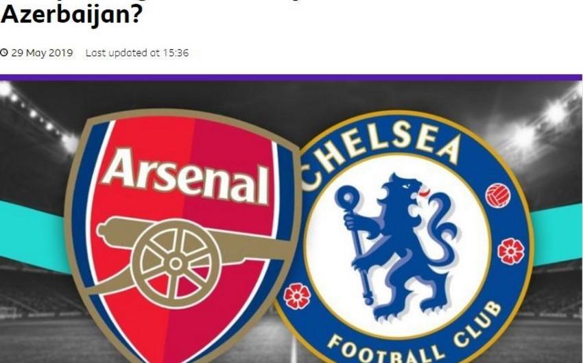 BBC Sport распространил видеорепортаж из Баку - ВИДЕО