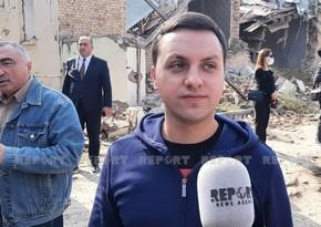 """Gəncə terroru ilə tanış olan ukraynalı deputat: """"Bu dəhşətli cinayət yolverilməzdir"""""""