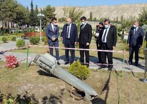 Посол Израиля посетил Мингячевирскую ТЭС