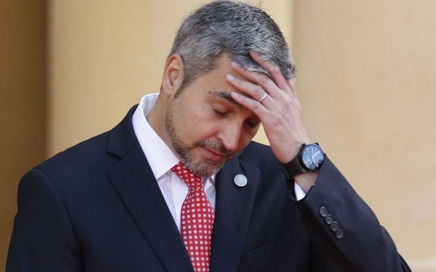 Paraqvay prezidenti bütün nazirlərin istefasını istəyib