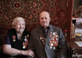 Два бакинских ветерана... - ФОТОРЕПОРТАЖ