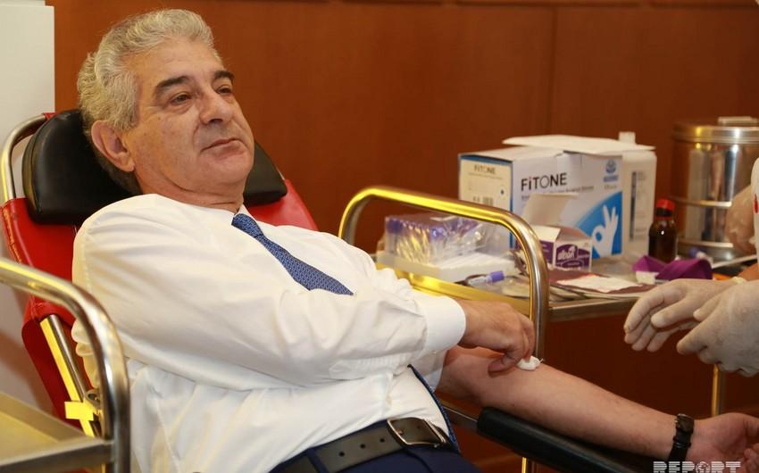 В штаб-квартире ПЕА проведена донорская акция по сдаче крови