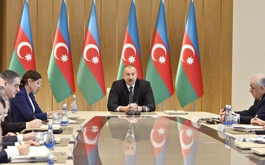 При президенте Ильхаме Алиеве состоялось совещание, посвященное итогам 2019 года - ОБНОВЛЕНО