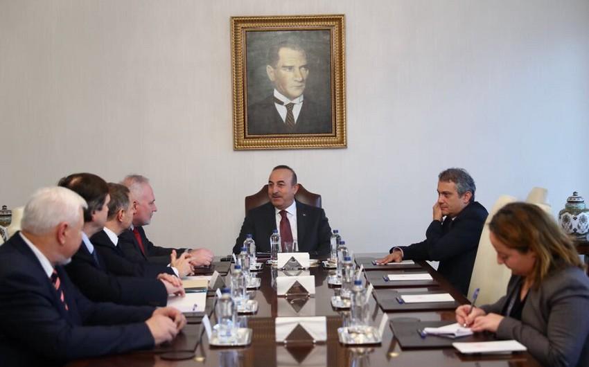 Türkiyə XİN başçısı Minsk Qrupunun həmsədrləri ilə Qarabağ münaqişəsini müzakirə edib