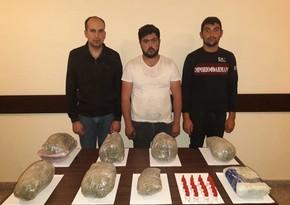 Задержаны 5 человек, пытавшихся переправить наркотики из Ирана в Азербайджан