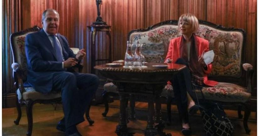 Глава МИД России обсудил с генсеком ОБСЕ ситуацию в Карабахе