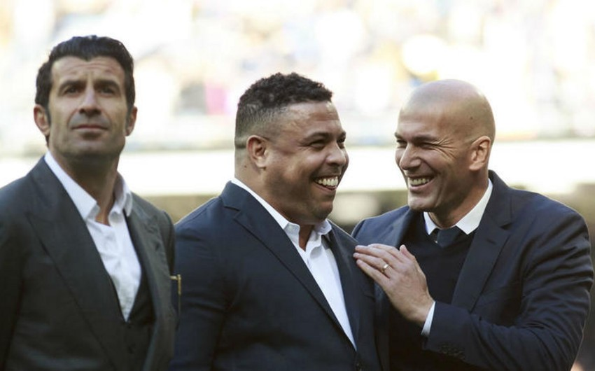 """Ronaldo: """"Mənim oynadığım dövrdə Messi və Ronaldu 10 """"Qızıl top""""u ikilikdə qazana bilməzdilər"""