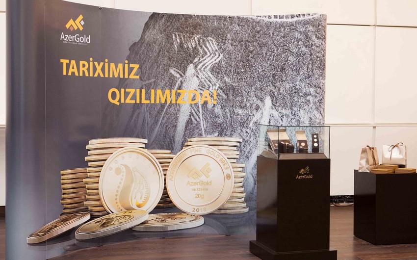 """""""AzerGold"""" sikkə və külçələrin təqdimatını keçirib"""